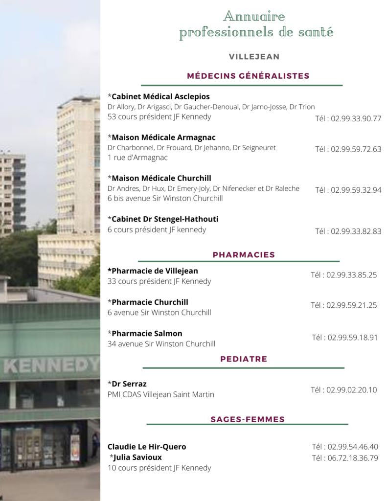 Annuaire PDS 1 791x1024 Les professionnels de santé